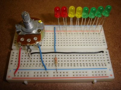 Add the potentiometer