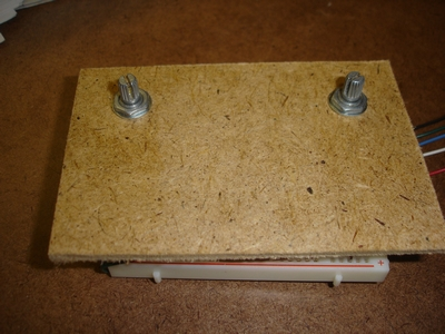 Mounted potentiometers